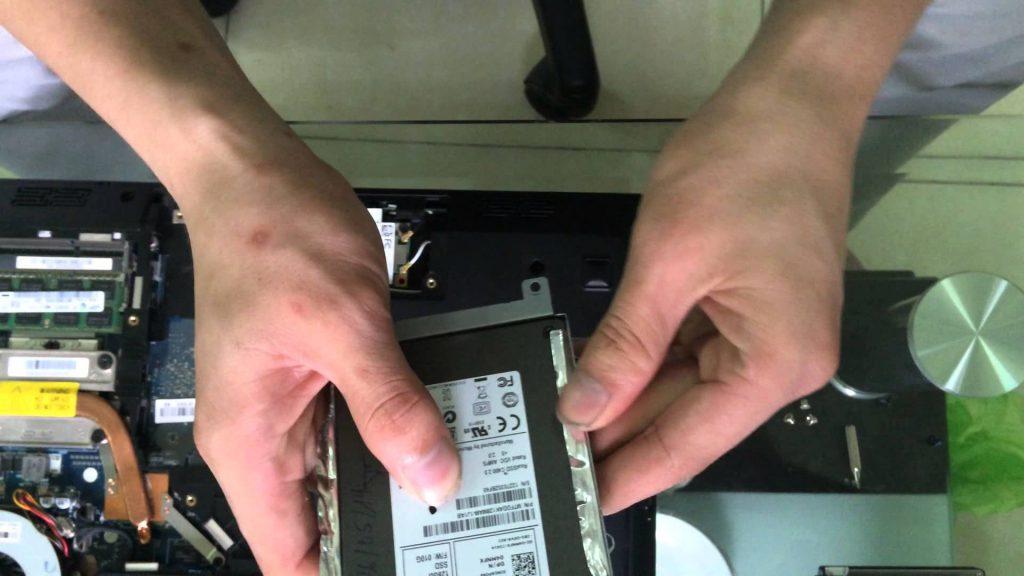 thay ổ cứng laptop nha trang